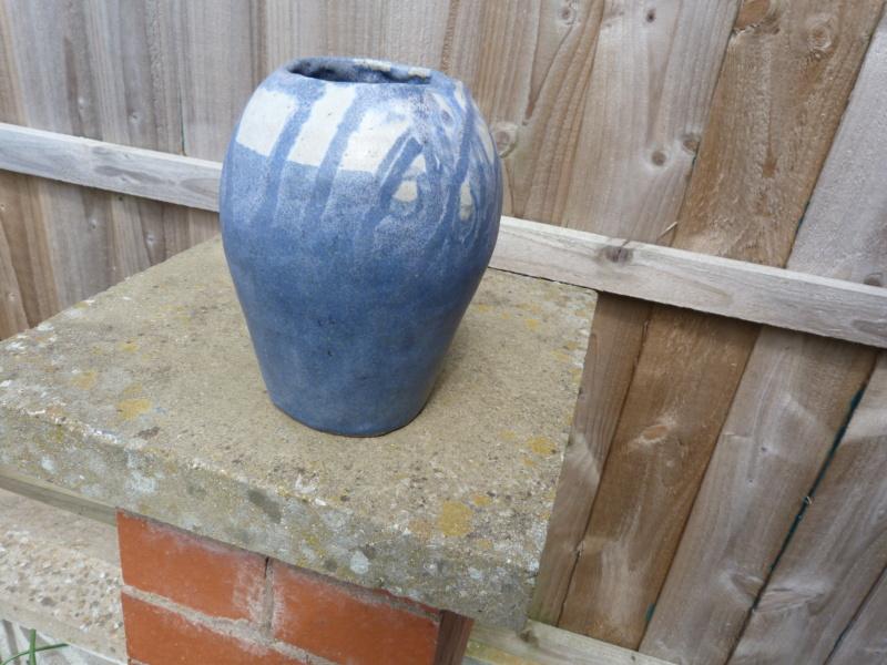 Studio built up Vase, feels like Granite! name unknown. P1120826