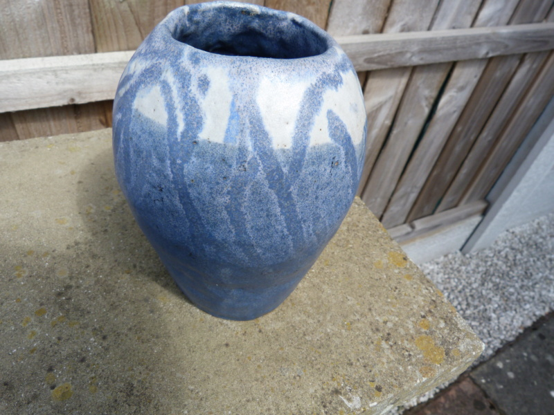 Studio built up Vase, feels like Granite! name unknown. P1120831
