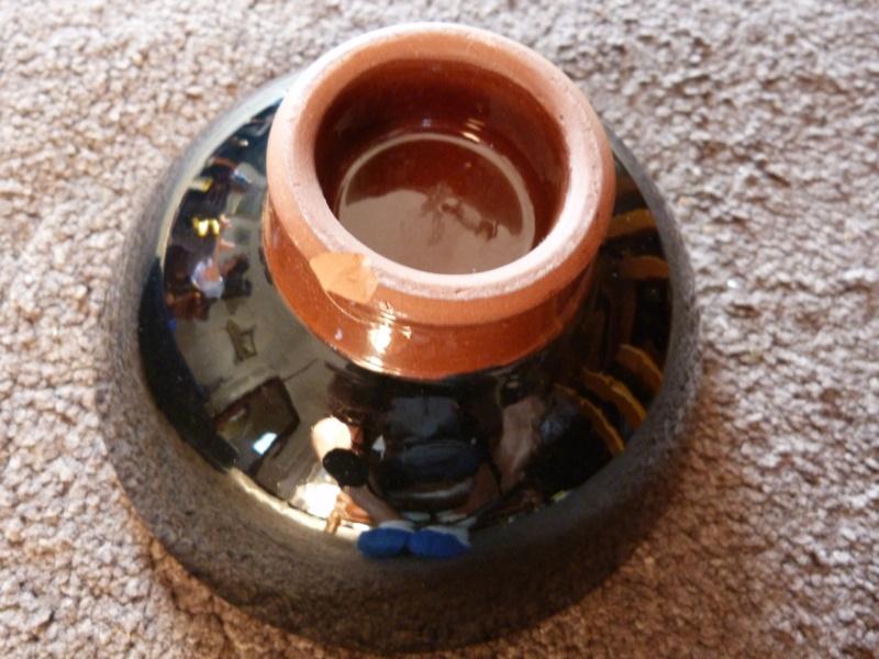 Studio slipware bowl, Francoise Dufayard P1130116