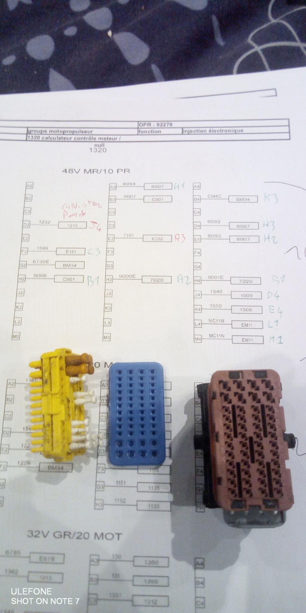 swap 2l16 phase 1 dans caisse 1.4l 16v phase 2 16181610