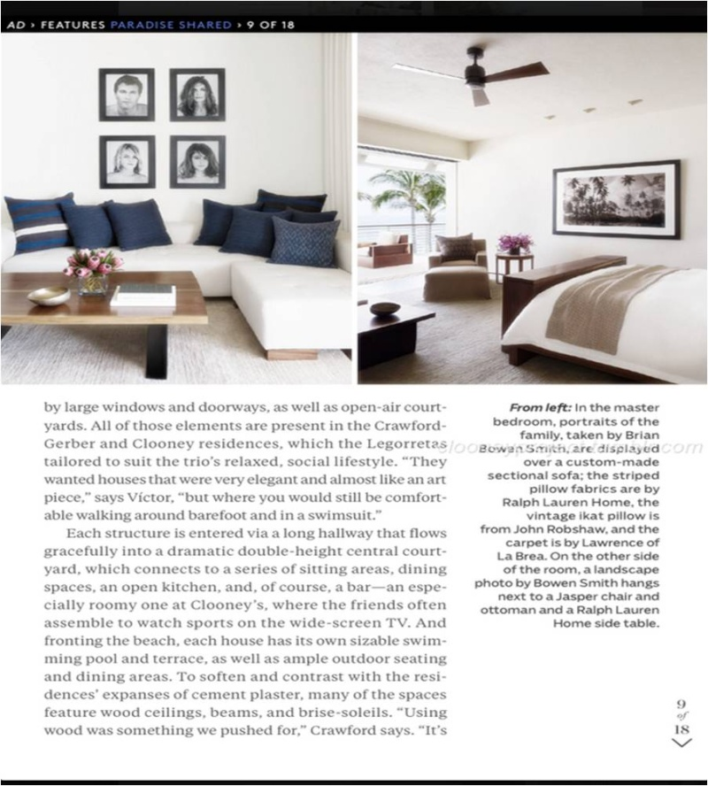 George Clooney's Cabo home featured in Architectural Digest - Page 2 Ad_1110