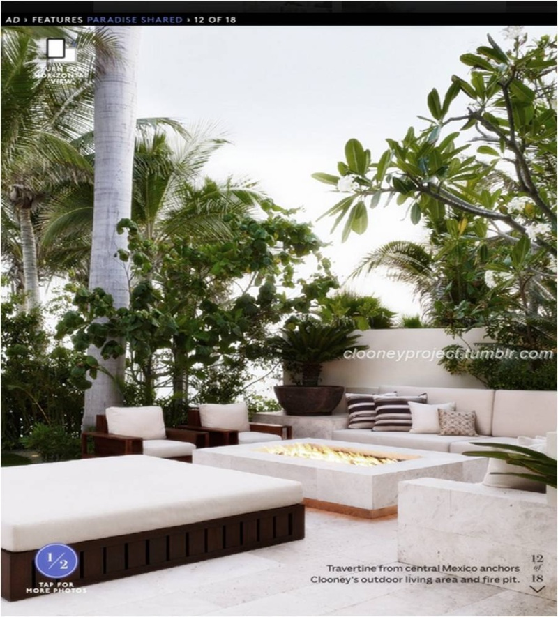 George Clooney's Cabo home featured in Architectural Digest - Page 2 Ad_1410