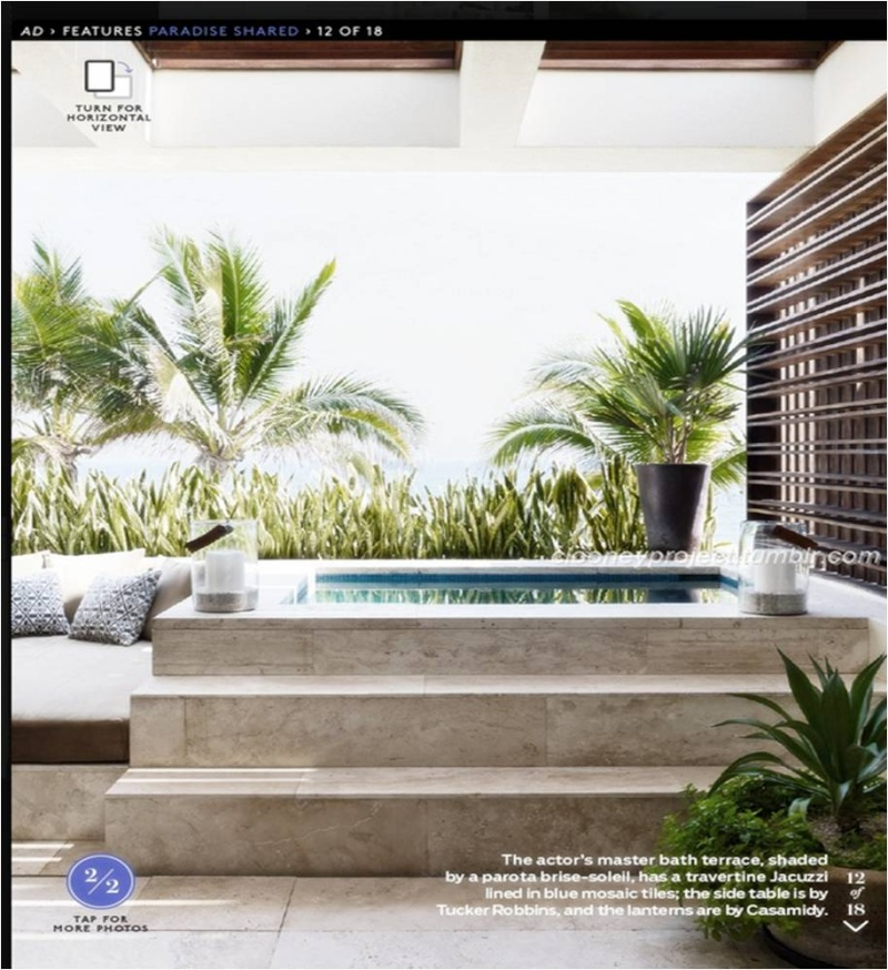 George Clooney's Cabo home featured in Architectural Digest - Page 2 Ad_1510