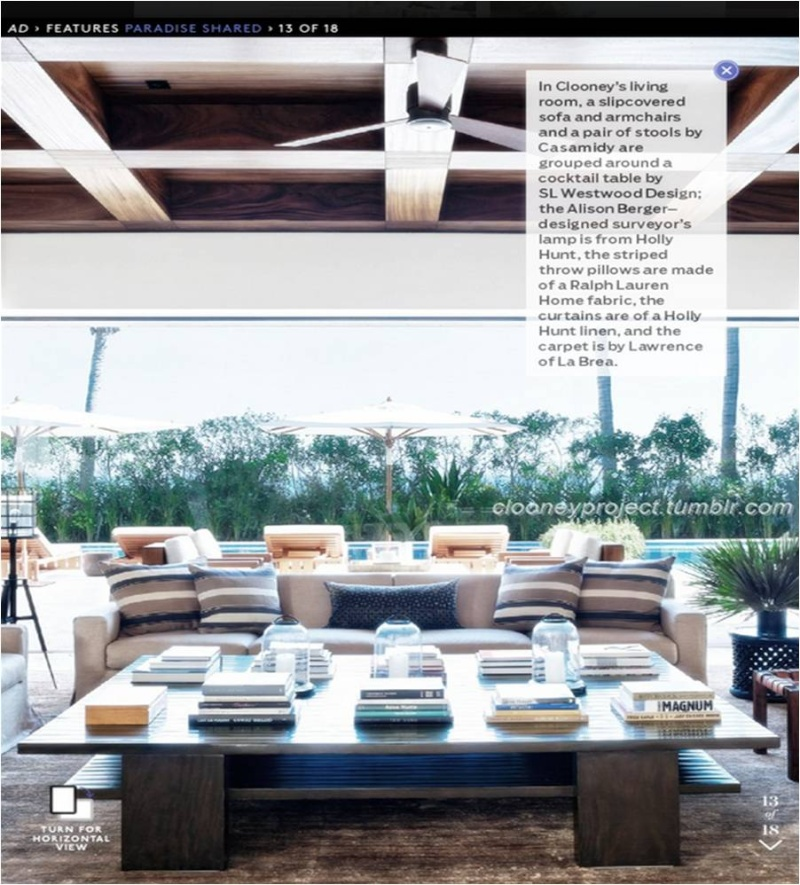 George Clooney's Cabo home featured in Architectural Digest - Page 2 Ad_1610