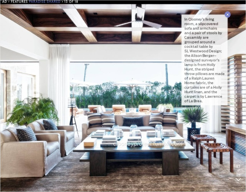 George Clooney's Cabo home featured in Architectural Digest - Page 2 Ad_1710