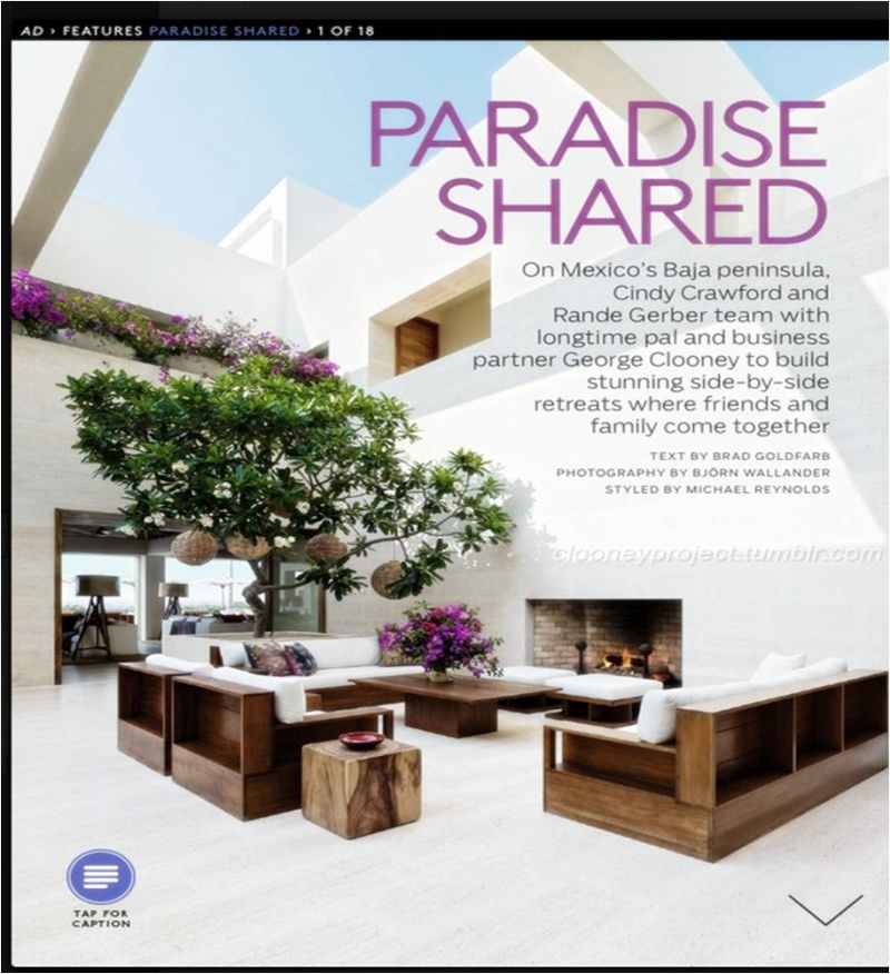 George Clooney's Cabo home featured in Architectural Digest - Page 2 Ad_210