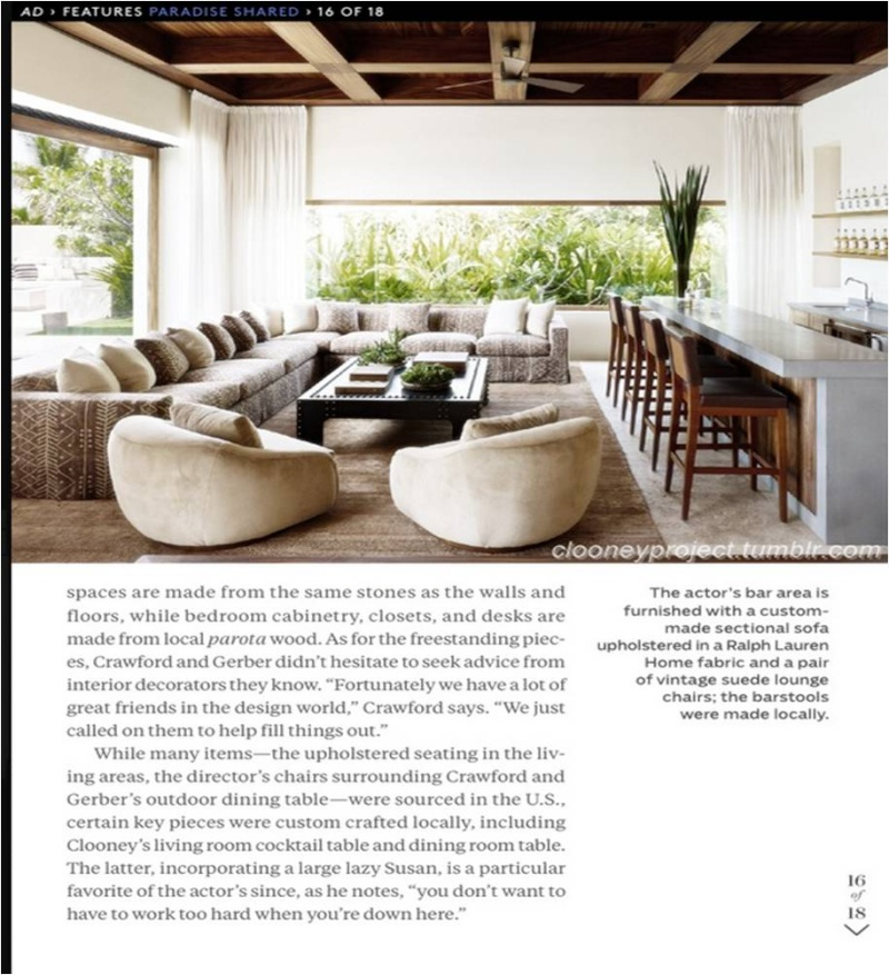 George Clooney's Cabo home featured in Architectural Digest - Page 2 Ad_2110