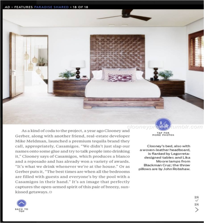 George Clooney's Cabo home featured in Architectural Digest - Page 2 Ad_2310