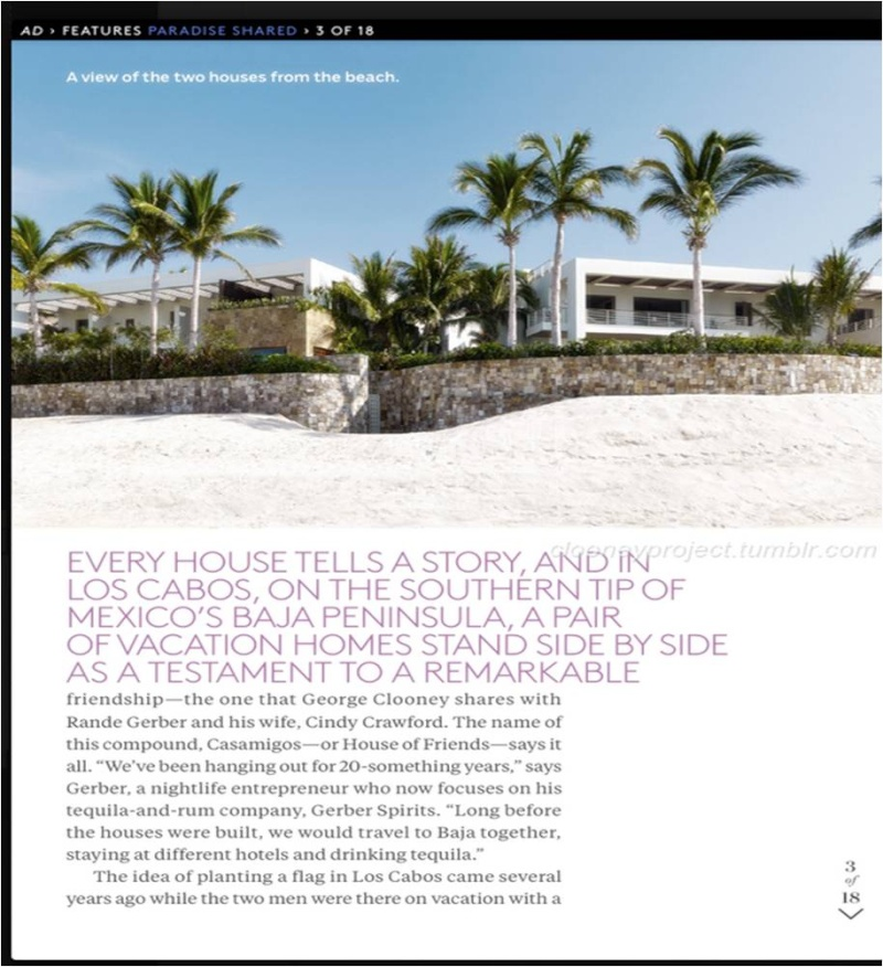 George Clooney's Cabo home featured in Architectural Digest - Page 2 Ad_410