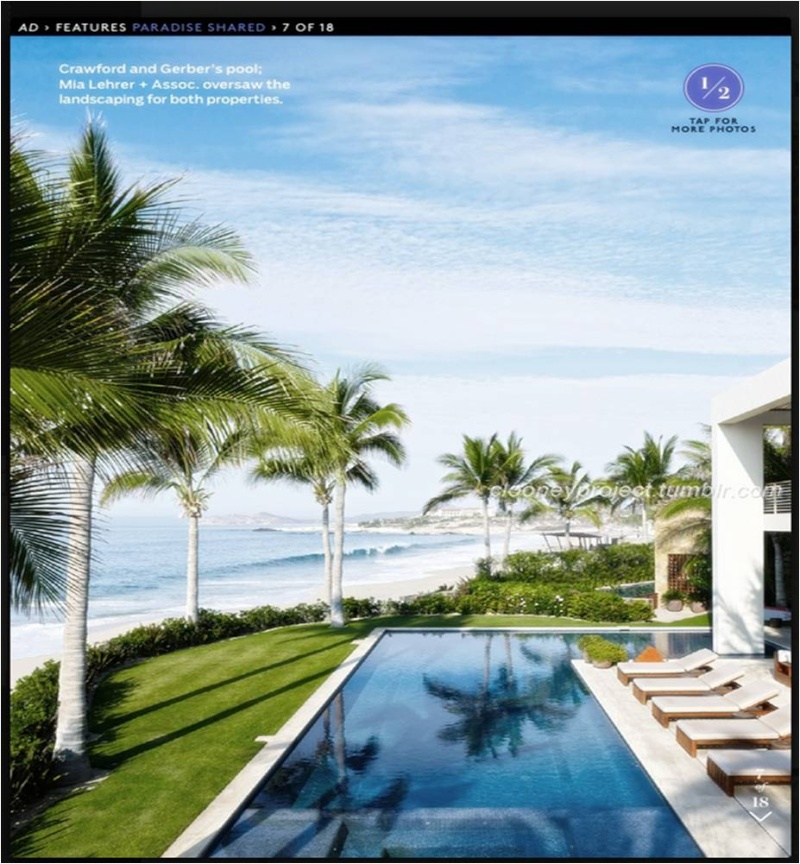 George Clooney's Cabo home featured in Architectural Digest - Page 2 Ad_810