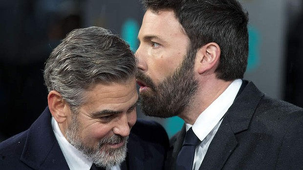 Why are beards back? George Clooney leads the way in face fuzz Beards10