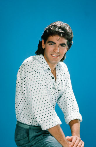 From geek to gorgeous!  George Clooney in pictures Geek_t10