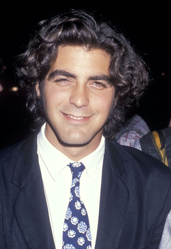 From geek to gorgeous!  George Clooney in pictures Geek_t15