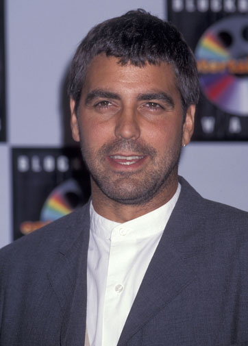 From geek to gorgeous!  George Clooney in pictures Geek_t21
