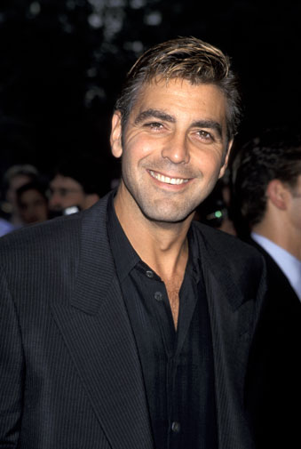 From geek to gorgeous!  George Clooney in pictures Geek_t23