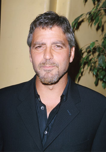 From geek to gorgeous!  George Clooney in pictures Geek_t24