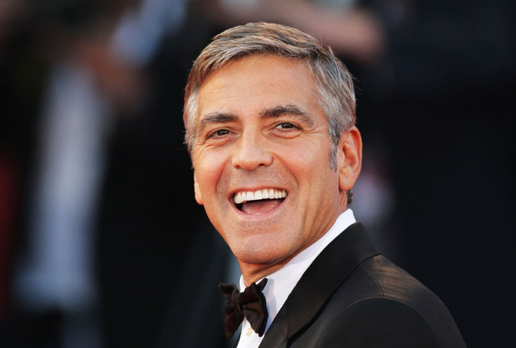 From geek to gorgeous!  George Clooney in pictures Geek_t32