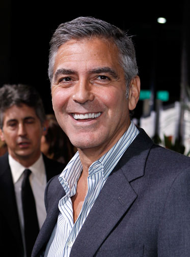 From geek to gorgeous!  George Clooney in pictures Geek_t34