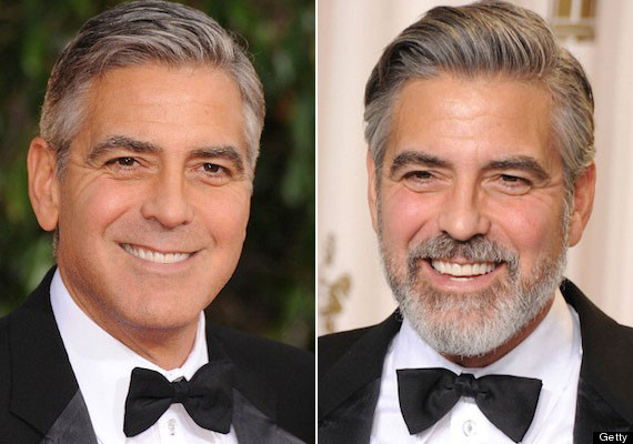 Men with beards look up to 8 years older - George Clooney mention George11