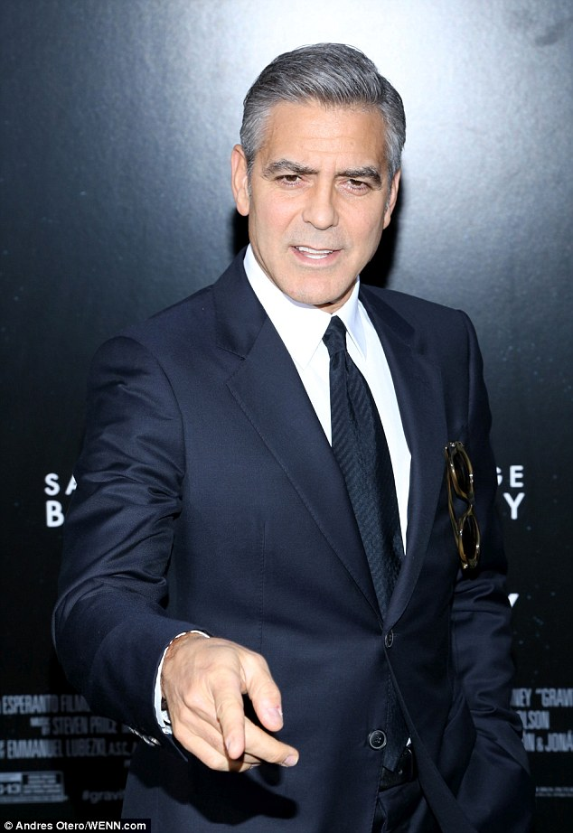 George Clooney at the Gravity, New York Premiere ~ Oct 01, 2013 Gravit14