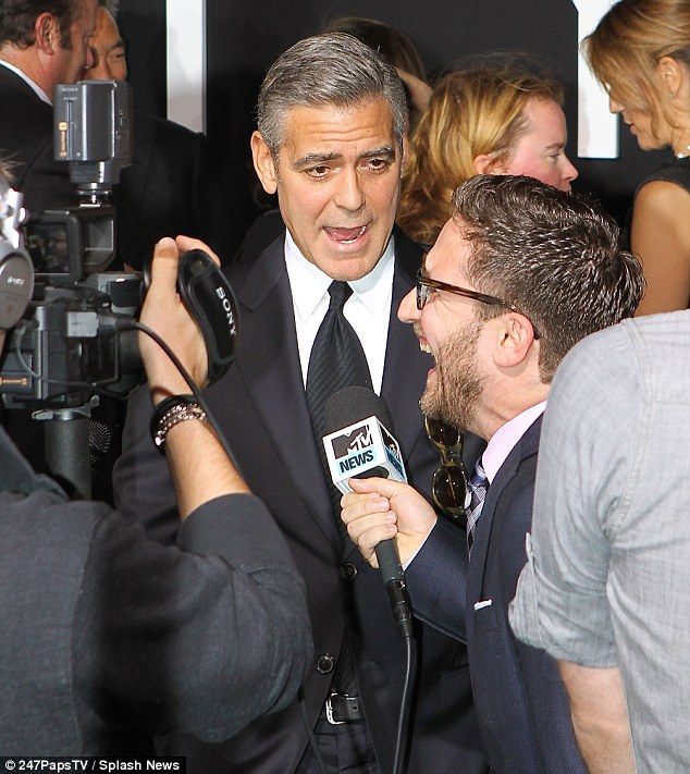 George Clooney at the Gravity, New York Premiere ~ Oct 01, 2013 Gravit16