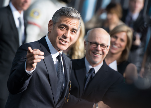 George Clooney at the Gravity, New York Premiere ~ Oct 01, 2013 Gravit17