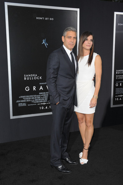 George Clooney at the Gravity, New York Premiere ~ Oct 01, 2013 Gravit19
