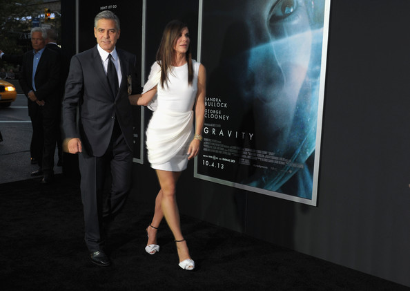 George Clooney at the Gravity, New York Premiere ~ Oct 01, 2013 Gravit21