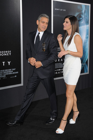 George Clooney at the Gravity, New York Premiere ~ Oct 01, 2013 Gravit22