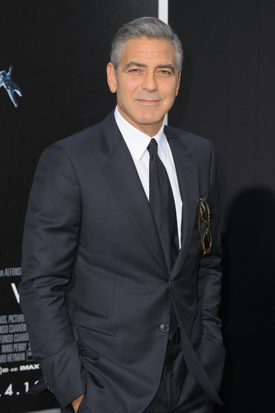 George Clooney at the Gravity, New York Premiere ~ Oct 01, 2013 Gravit24