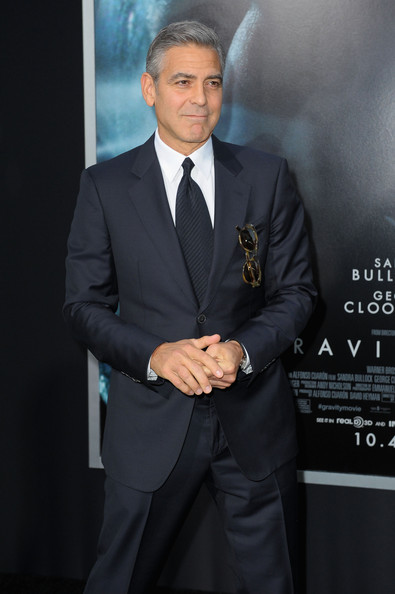 George Clooney at the Gravity, New York Premiere ~ Oct 01, 2013 Gravit25