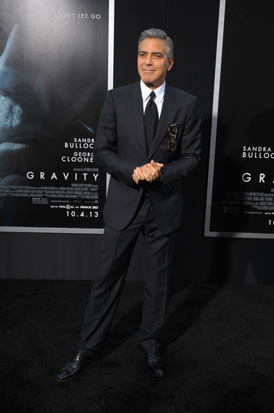 George Clooney at the Gravity, New York Premiere ~ Oct 01, 2013 Gravit26