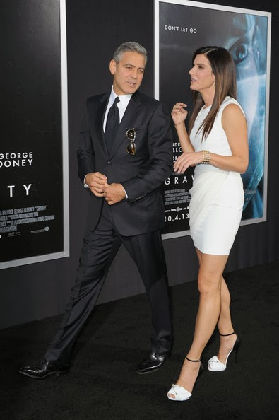 George Clooney at the Gravity, New York Premiere ~ Oct 01, 2013 Gravit27