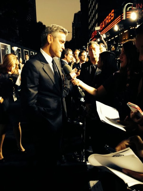 George Clooney at the Gravity, New York Premiere ~ Oct 01, 2013 Gravit28