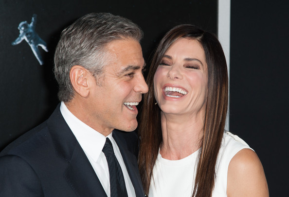George Clooney at the Gravity, New York Premiere ~ Oct 01, 2013 Gravit33
