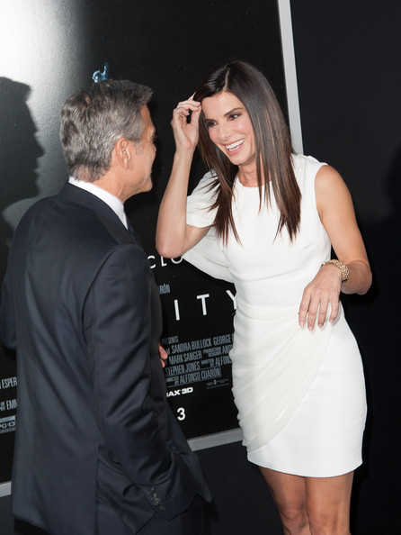 George Clooney at the Gravity, New York Premiere ~ Oct 01, 2013 Gravit34