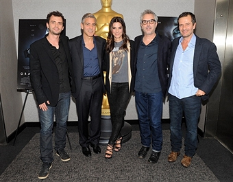Q&A at Gravity Screening with George Clooney and Sandra Bullock  Gravit48