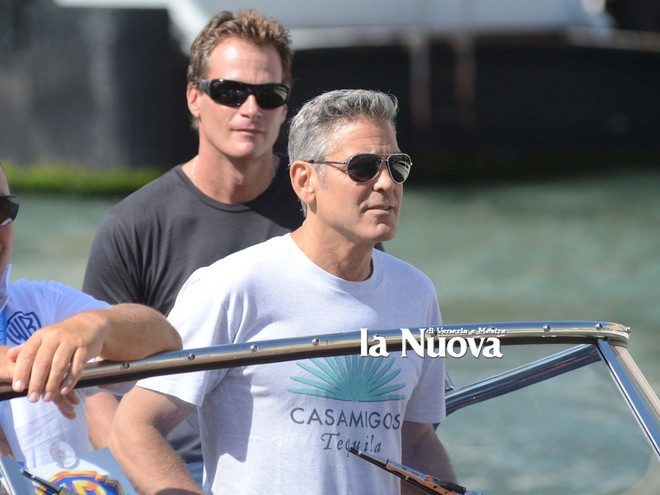George Clooney arrives in Venice Vff_cl16