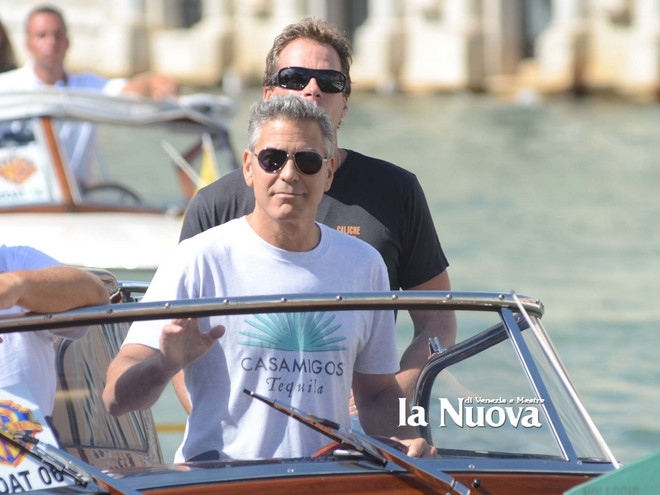 George Clooney arrives in Venice Vff_cl17