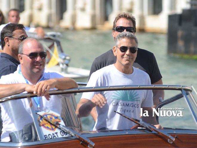 George Clooney arrives in Venice Vff_cl19