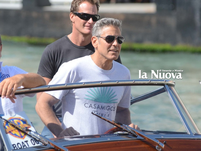 George Clooney arrives in Venice Vff_cl20