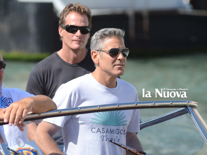 George Clooney arrives in Venice Vff_cl21
