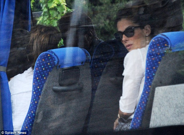 Photos: George Clooney and Sandra Bullock at his house in Italy Vff_cl26