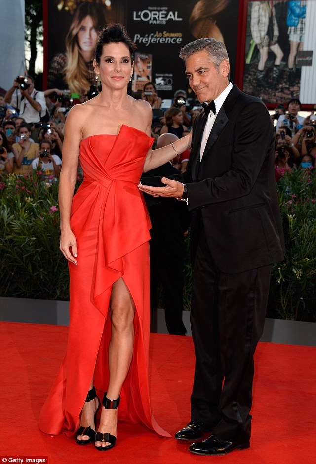 George Clooney and Sandra Bullock at the evening premiere of Gravity at Venice Film Festival - Page 2 Vff_cl32