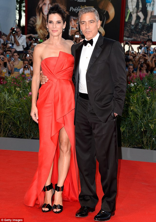 George Clooney and Sandra Bullock at the evening premiere of Gravity at Venice Film Festival - Page 2 Vff_cl33