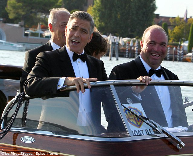 George Clooney and Sandra Bullock at the evening premiere of Gravity at Venice Film Festival - Page 2 Vff_cl41