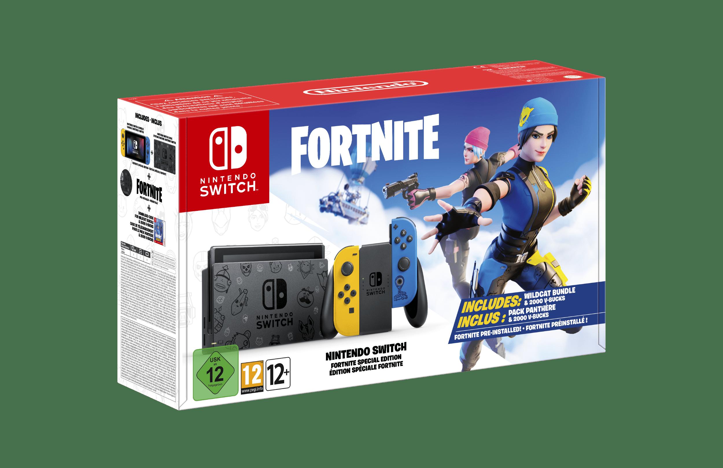Nintendo Switch : Un pack édition spéciale Fortnite annoncée en Europe 15997210