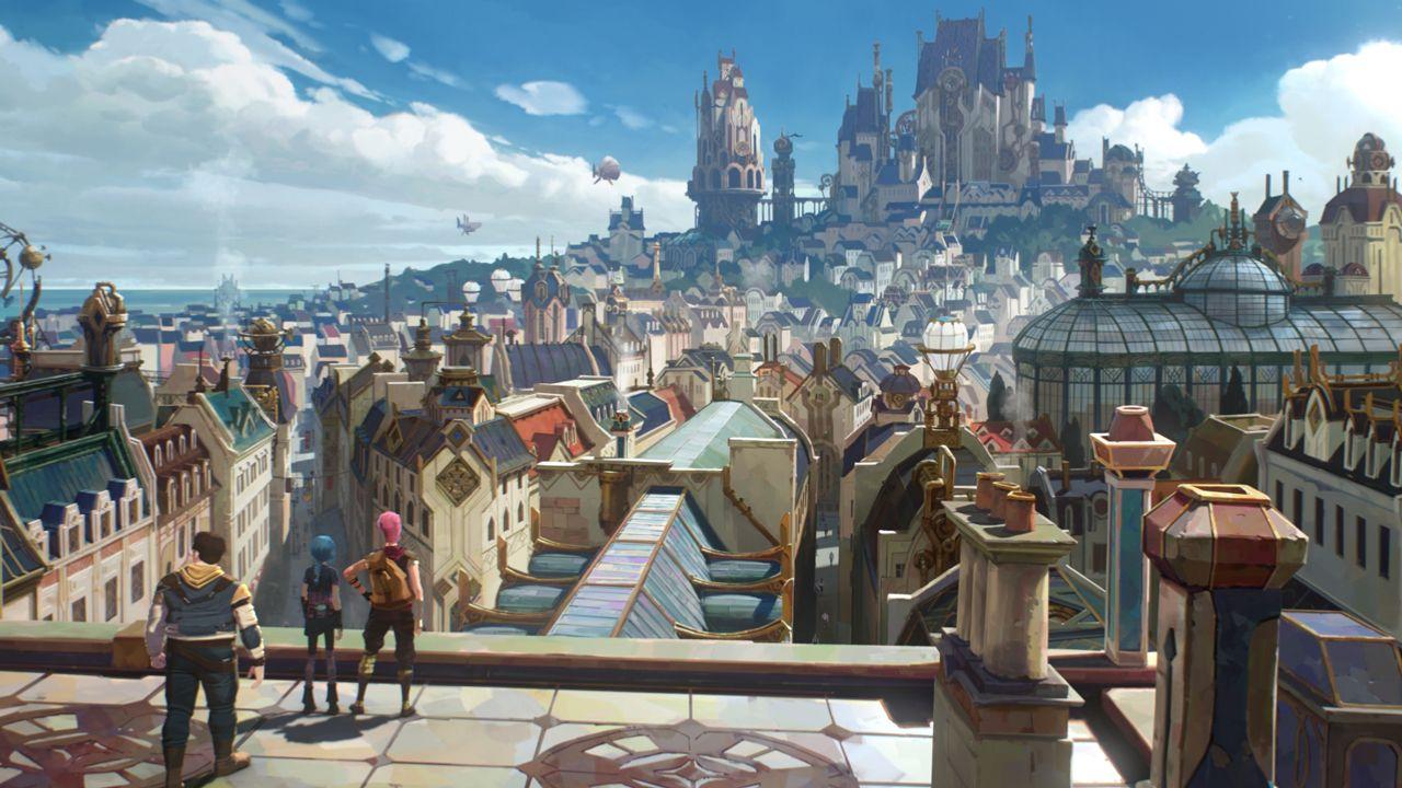 Netflix et Riot Games donnent vie à League of Legends avec la série animée Arcane 3jjizh10
