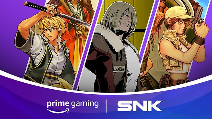 Amazon Prime Gaming - SNK Arcade est maintenant disponible Amazon13
