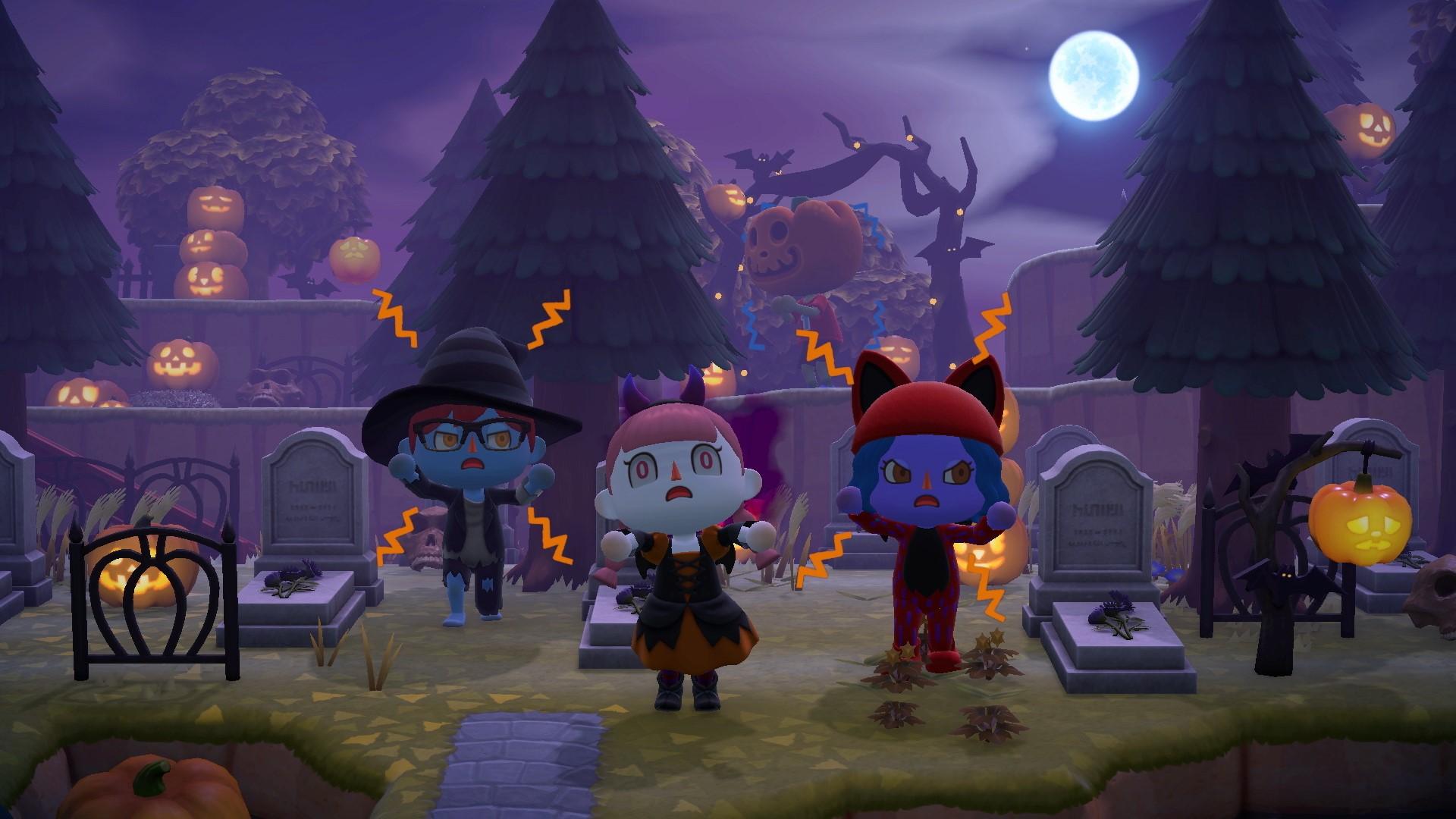 Célébrez l'automne et Halloween avec Animal Crossing : New Horizons Animal11